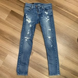 Hollister Super Skinny Distressed Jeans 28x30